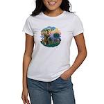 St Fran (ff) - Russian Blue (#2) Women's T-Shirt