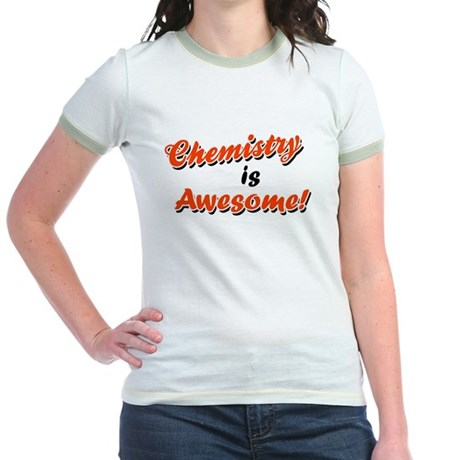 Chemistry Is Awesome Jr. Ringer T-Shirt