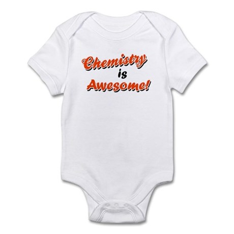 Chemistry Is Awesome Infant Creeper