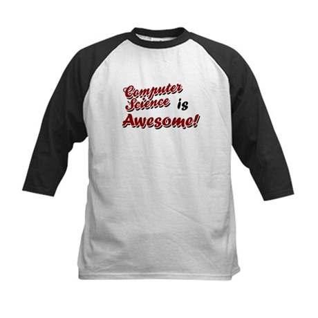 Computer Science Is Awesome Kids Baseball Jersey