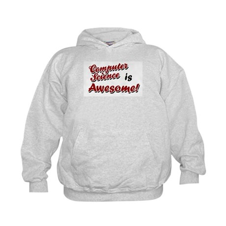 Computer Science Is Awesome Kids Hoodie