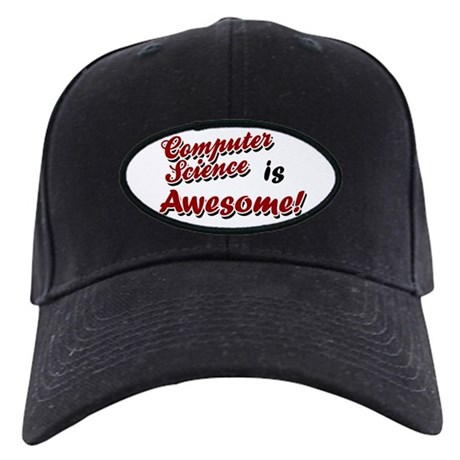 Computer Science Is Awesome Black Cap