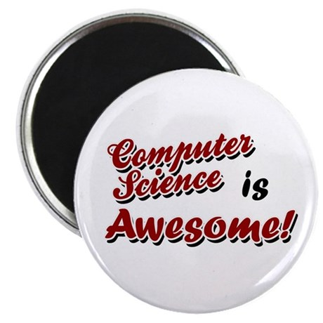 Computer Science Is Awesome Magnet