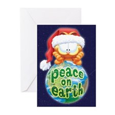 Peace on Earth Garfield Greeting Cards (Pk of 20)