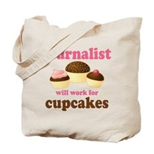 Funny Journalist Tote Bag