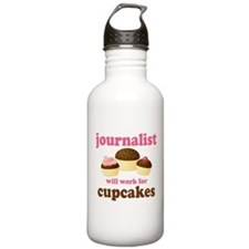Funny Journalist Water Bottle