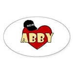 NCIS Abby Sticker (Oval 10 pk)