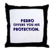Pedro's Protection Throw Pillow