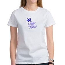 Unfinished Queen - Blue Tee
