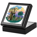 St Fran (f)-Norw. Forest Keepsake Box