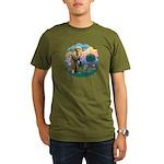 St Fran (f)-Norw. Forest Organic Men's T-Shirt (da