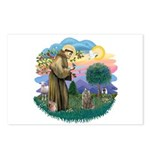 St Fran (f)-Norw. Forest Postcards (Package of 8)