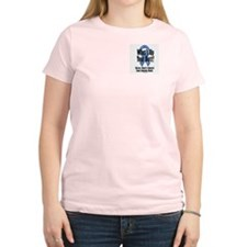 Colorectal Cancer Awareness Women's Pink T-Shirt