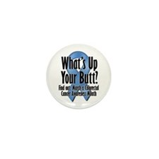 Colorectal Cancer Awareness Mini Button (10 pack)