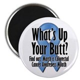 Colorectal Cancer Awareness Magnet