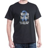 Colorectal Cancer Awareness Black T-Shirt