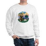 St Fran(f) - 2 Ragdolls Sweatshirt
