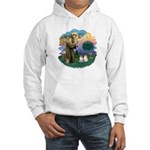 St Fran(f) - 2 Ragdolls Hooded Sweatshirt