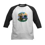 St Fran(f) - 2 Ragdolls Kids Baseball Jersey