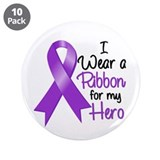 "Hero - Leiomyosarcoma 3.5"" Button (10 pack)"