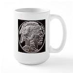Silver Indian Head Large RH Mug