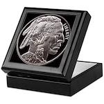 Silver Indian Head Keepsake Box