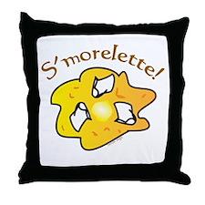 S'morelette Throw Pillow