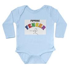 Future Fencer Long Sleeve Infant Bodysuit