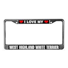 I Love My West Highland White Terrier