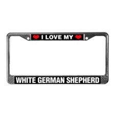 I Love My White German Shepherd