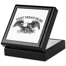 DONT TREAD ON ME Keepsake Box