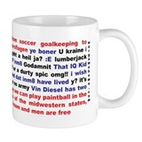The Classic Wargame Quotes Mug