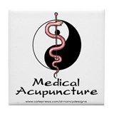 Medical Acupuncture Tile Coaster