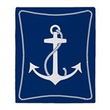 Nautical Throw Blankets
