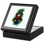 Christmas Caroler Keepsake Box