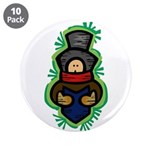 "Christmas Caroler 3.5"" Button (10 pack)"