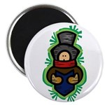 "Christmas Caroler 2.25"" Magnet (100 pack)"