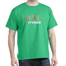 OIF Veteran Black T-Shirt