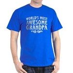Awesome Grandpa Dark T-Shirt