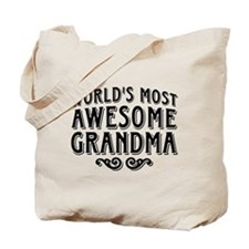 Awesome Grandma Tote Bag