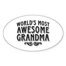 Awesome Grandma Decal