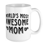 Awesome Mom Large Mug