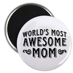 Awesome Mom Magnet