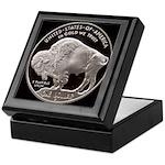 Silver Buffalo Keepsake Box