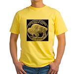 Silver Buffalo Yellow T-Shirt