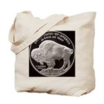 Silver Buffalo Tote Bag