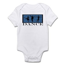 Dance Styles Trio Infant Creeper
