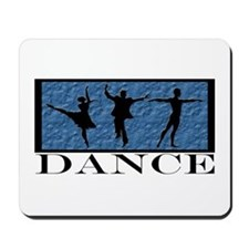 Dance Styles Trio Mousepad