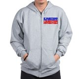 Question Patriotism Zip Hoodie