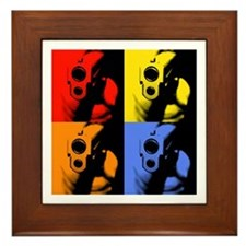 Four Color Sig Framed Tile